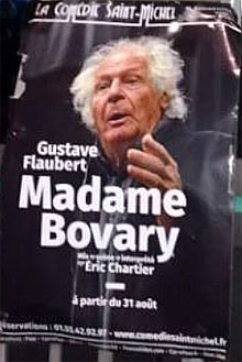 Affiche Madame Bovary, avec Eric Chartier